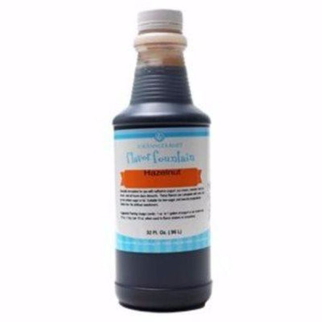 Hazelnut By Lorann Flavor Fountain 1 Quart Spices And Flavorings