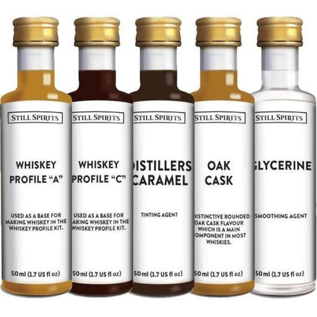 Jamesons Style Profile Kit By Still Spirits Whisky Essences