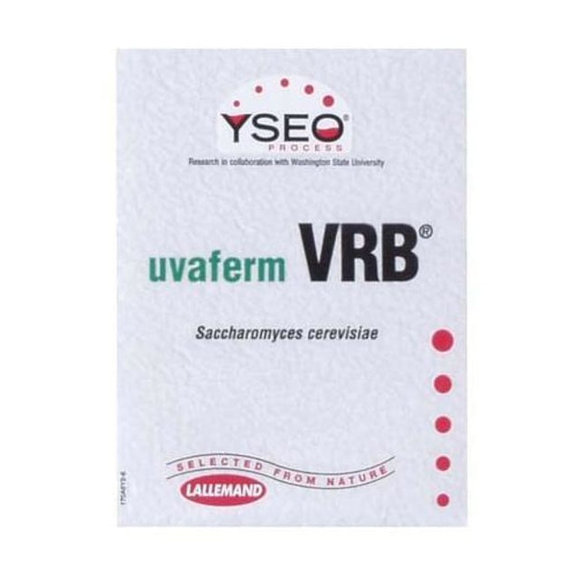 Lallemand Vrb Dry Wine Yeast 8 Gram Lallemand Dry Wine Yeast