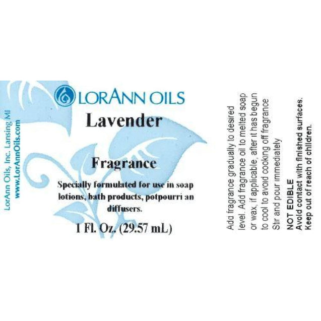 Lavender Oil Artificial Fragrance By Lorann Flavor Oils Spices And Flavorings