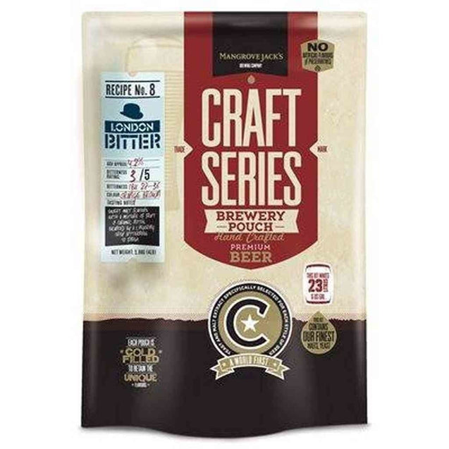 London Bitter Brewery Pouch Mj Craft Series Beer Ingredient Kits
