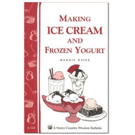 Making Ice Cream And Frozen Yogurt Cheese Books