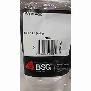 Malic Acid 1 Lb Bsg Food Grade Additives