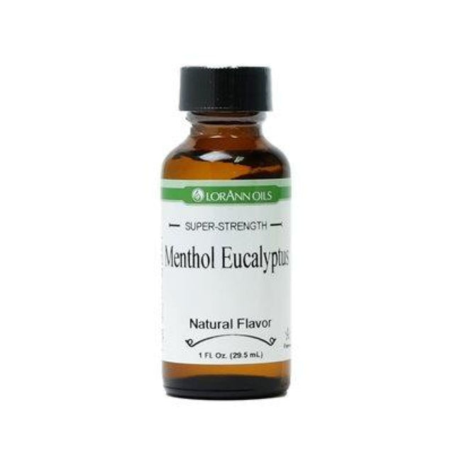 Menthol Eucalyptus Natural Flavor By Lorann Flavor Oils 1 Oz Spices And Flavorings