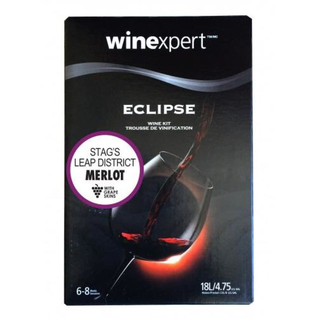 Merlot Napa Valley Stags Leap District Winexpert Eclipse Collection Wine Kit 18L Wine Ingredient Kits