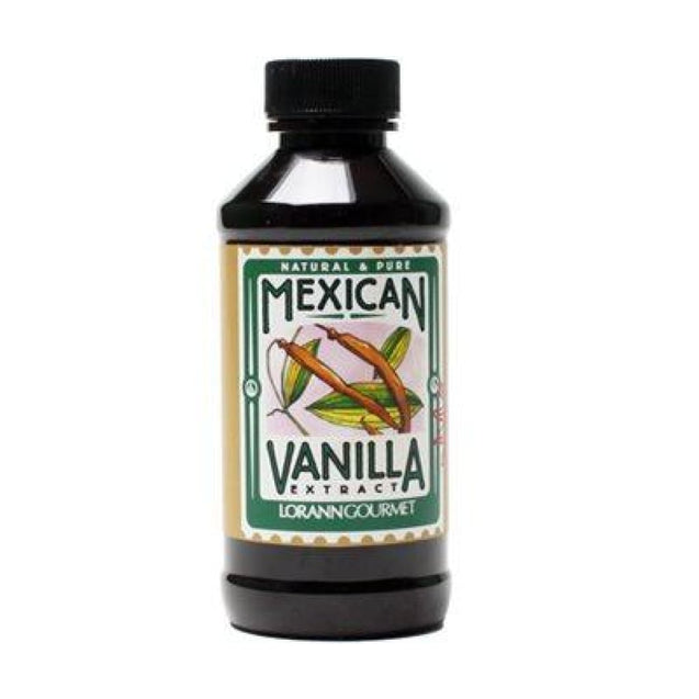 Mexican Vanilla Extract By Lorann Flavor Oils 4 Oz Spices And Flavorings
