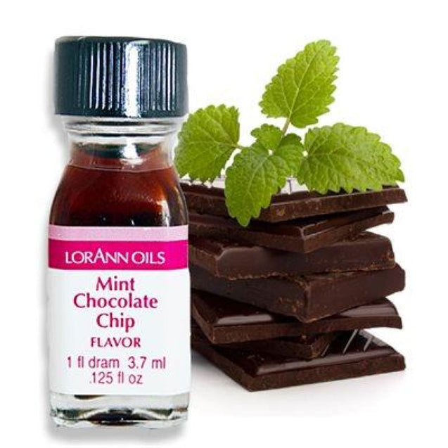 Mint Chocolate Chip Flavor By Lorann Flavor Oils 1 Dram Spices And Flavorings