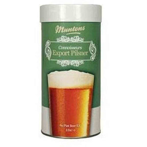Muntons Export Pilsner Single Can (4 Lb.) Muntons Connoisseurs Range