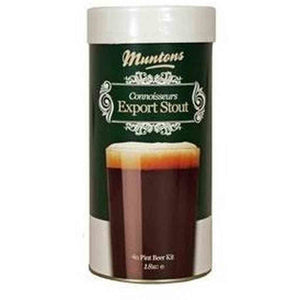 Muntons Export Stout Single Can (4 Lb.) Muntons Connoisseurs Range