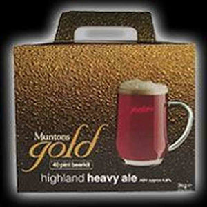 Muntons Highland Heavy Ale Single Kit Gold Range