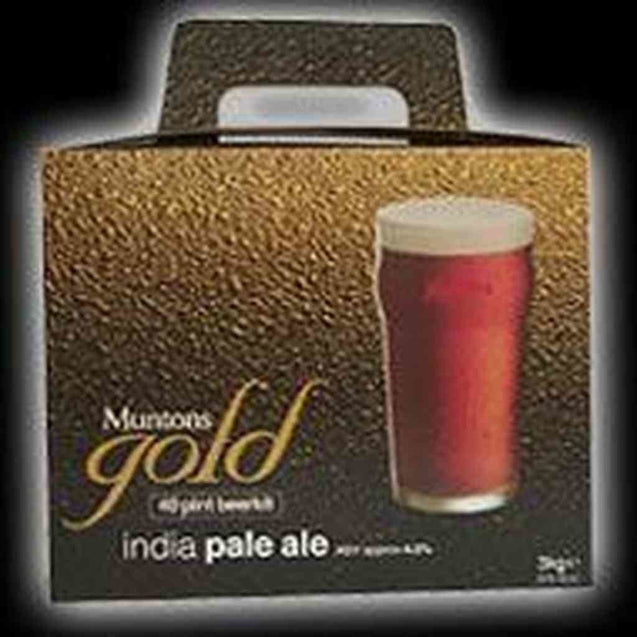 Muntons India Pale Ale Single Kit Muntons Gold Range