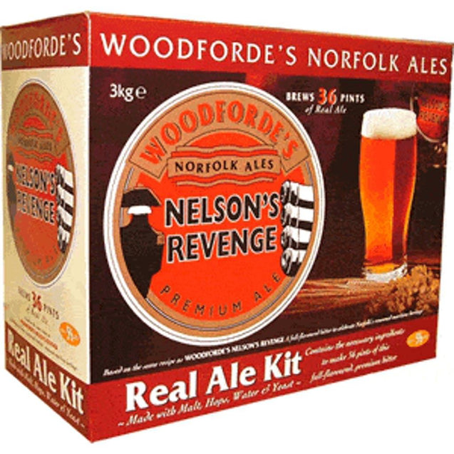 Muntons Nelsons Revenge Premium Ale Single Kit Woodfordes No-Boil Kits