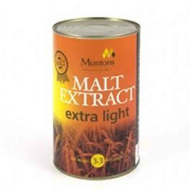 Muntons Unhopped Extra Light Single Can (3.3 Lb.) Muntons Unhopped Extracts