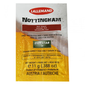 Nottingham Yeast 11 G Dry Ale Yeast