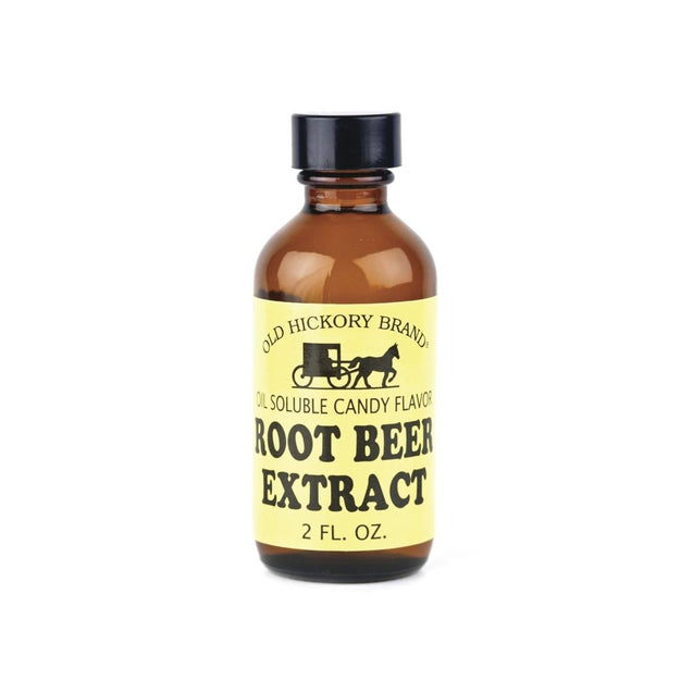 Old Hickory Clear Root Beer Extract 2 Oz Rootbeer