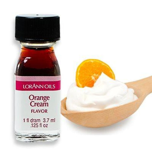 Orange Cream Flavor By Lorann Flavor Oils 1 Dram Spices And Flavorings