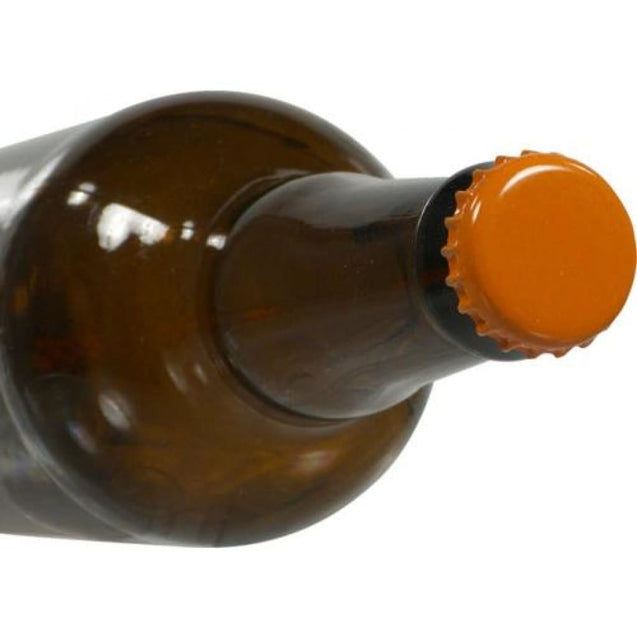 Oxygen Absorbing Beer Bottle Caps Crowns Case 10 000 / Orange Crown Bottle Caps