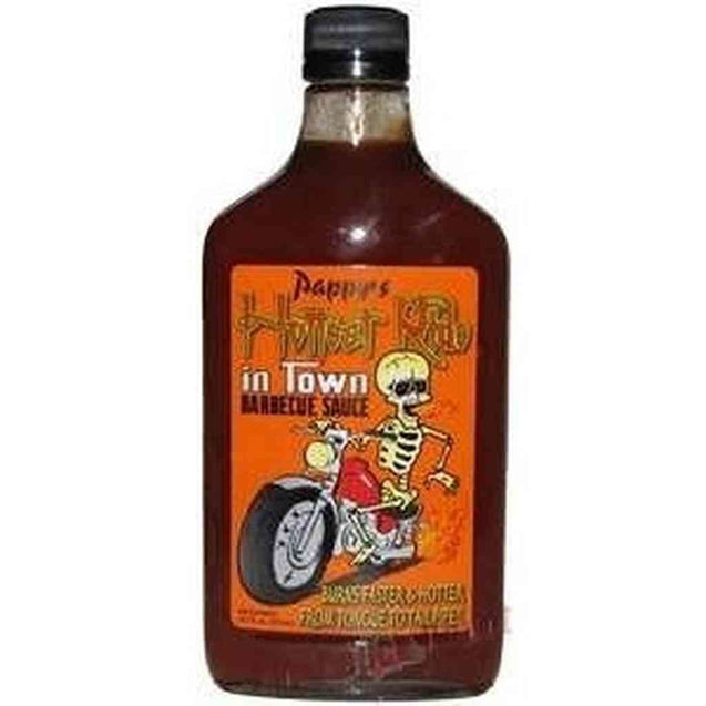 Pappys Hottest Ride In Town Bbq Sauce 12.7Oz Hot Sauce