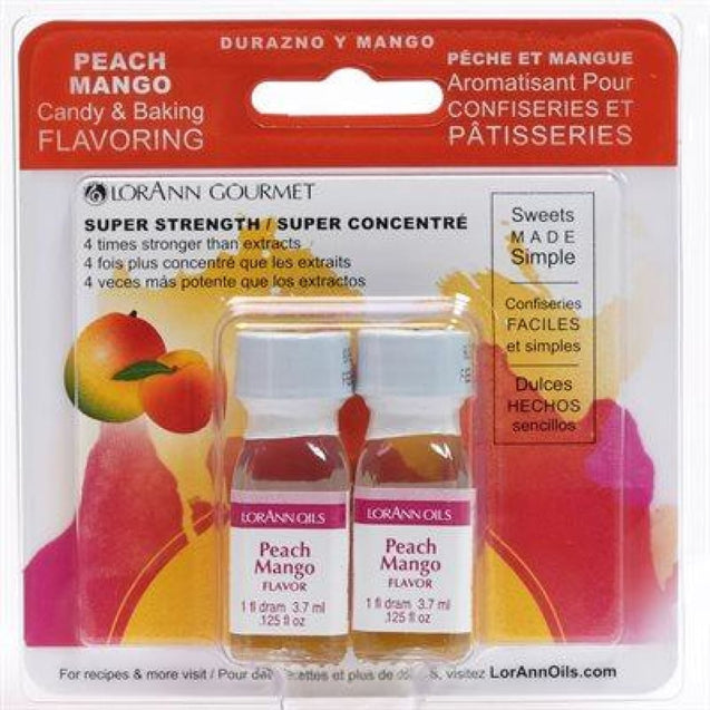 Peach Mango Natural Flavor By Lorann Flavor Oils Qty 2-1 Dram Spices And Flavorings