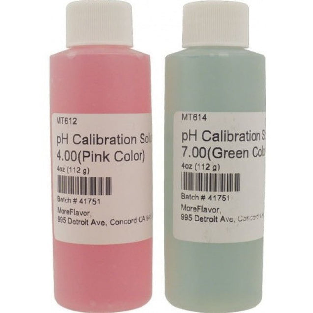 Ph Calibration Solutions (Set Of 2) Ph Meters