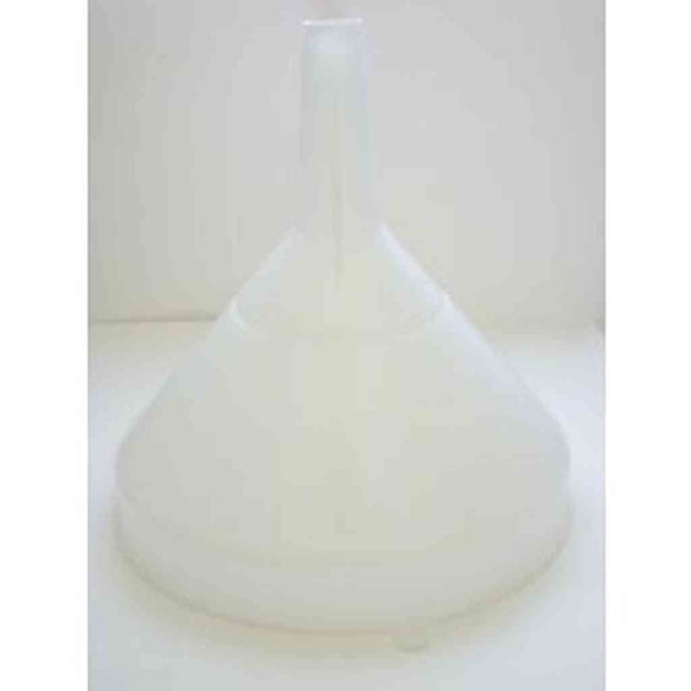 Plastic Funnel Only 25Cm/ 10 White Nylon Funnels
