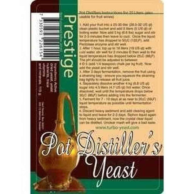 Pot Distillers Turbo Yeast Distillers Turbo Yeast & Specialty Yeast