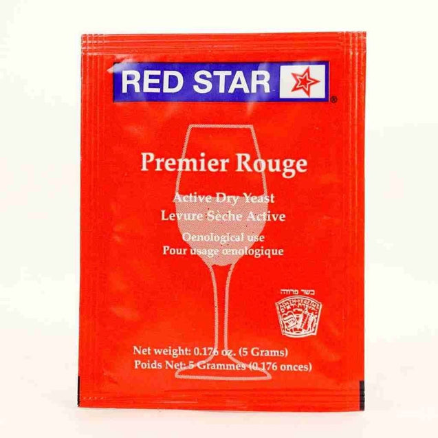 Red Star Premier Rouge Wine Yeast 5 Gm Red Star Dry Wine Yeast