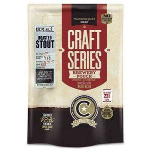 Roasted Stout Brewery Pouch Mj Craft Series Beer Ingredient Kits