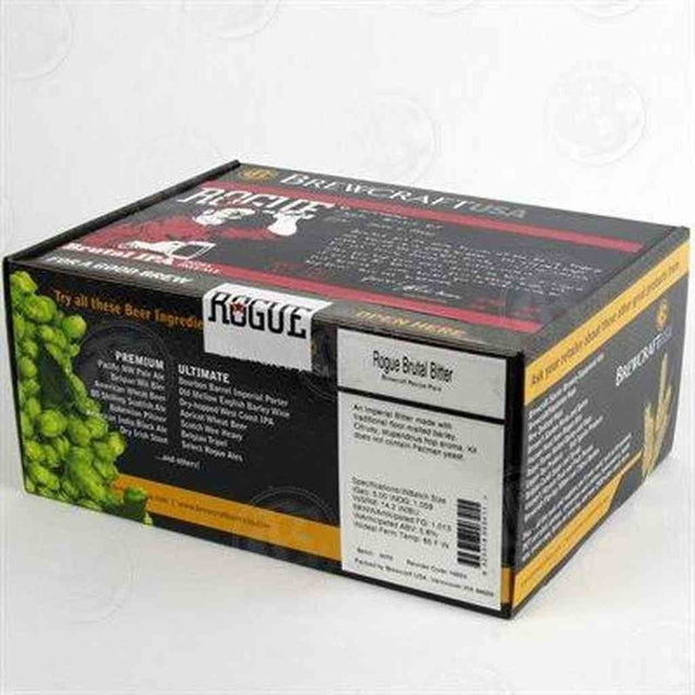 Rogue Brutal Ipa Brewcraft/rogue Brewery Series Recipe Pack Beer Ingredient Kits