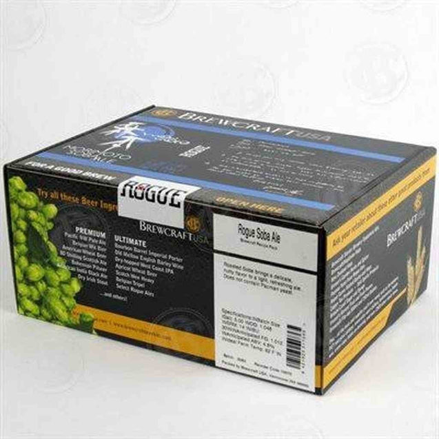 Rogue Soba Ale Brewcraft Rogue Brewery Series Recipe Pack Beer Ingredient Kits