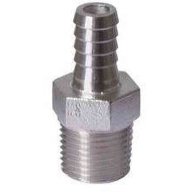 Stainless - 1/2 Mpt X 3/8 Barb Hardware