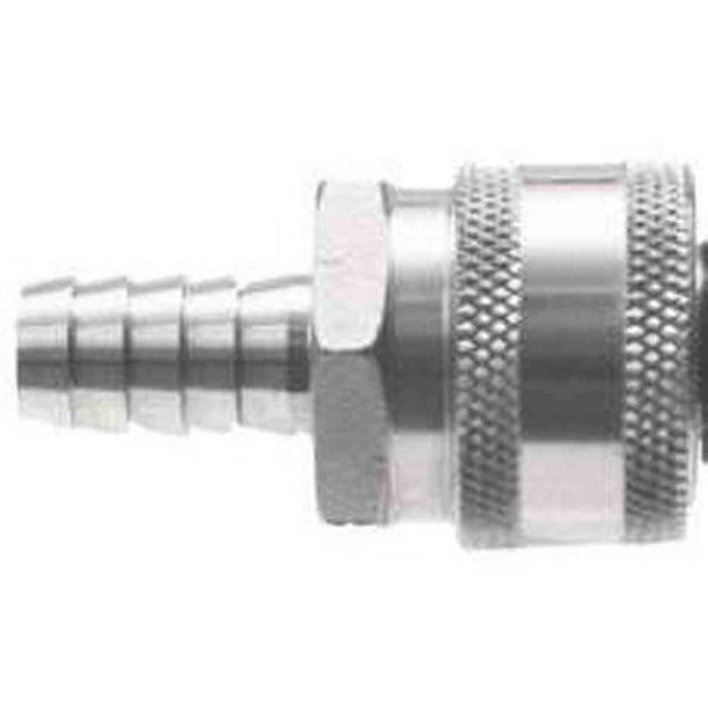 Stainless Steel Quick Disconnect - Female Qd X 1/2 In. Barb Stainless Steel Fittings