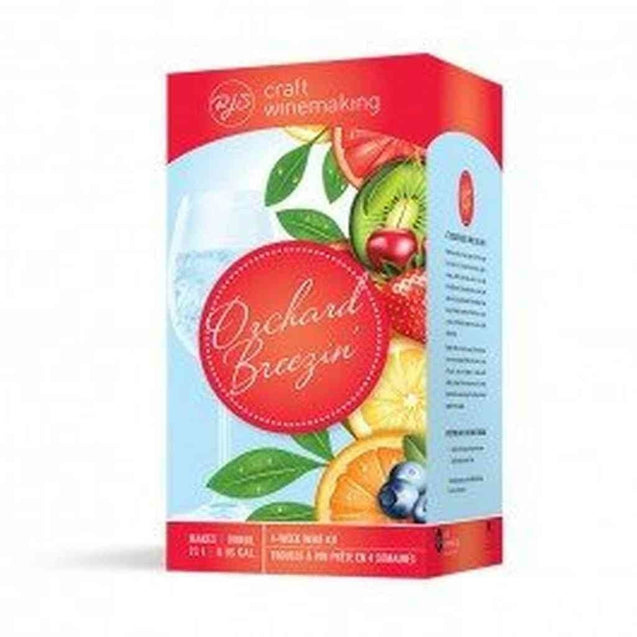 Strawberry Sensation Orchard Breezin Wine Kit (5 4L) Wine Ingredient Kits