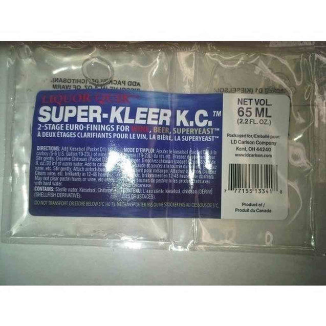 Super-Kleer Finings (Kieselsol/chitosan) - 65 Ml Packet Fining Agents