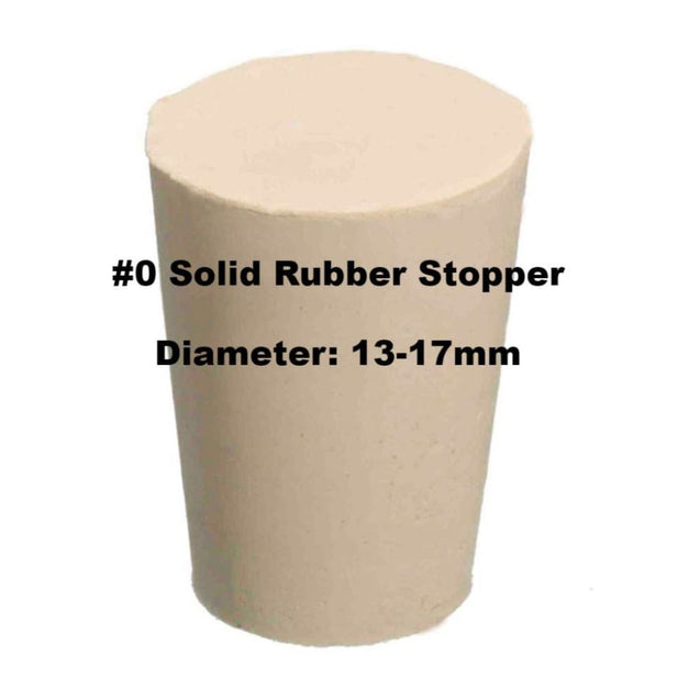 Tapered Solid Rubber Stopper Size Rubber Stoppers