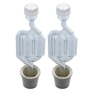 Twin Bubble Airlock And Carboy Bung (Pack Of 2) Air Locks