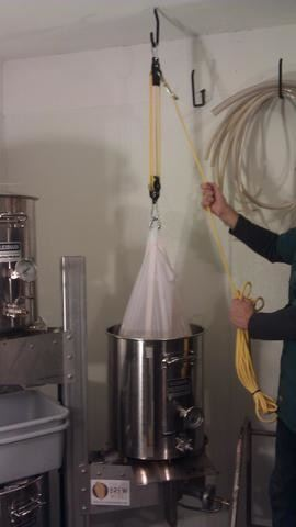 The Brew Bag For Keggles - Designed No Sparge In A