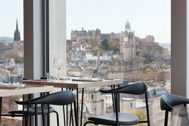 The Lookout by Gardeners Cottage Edinburgh