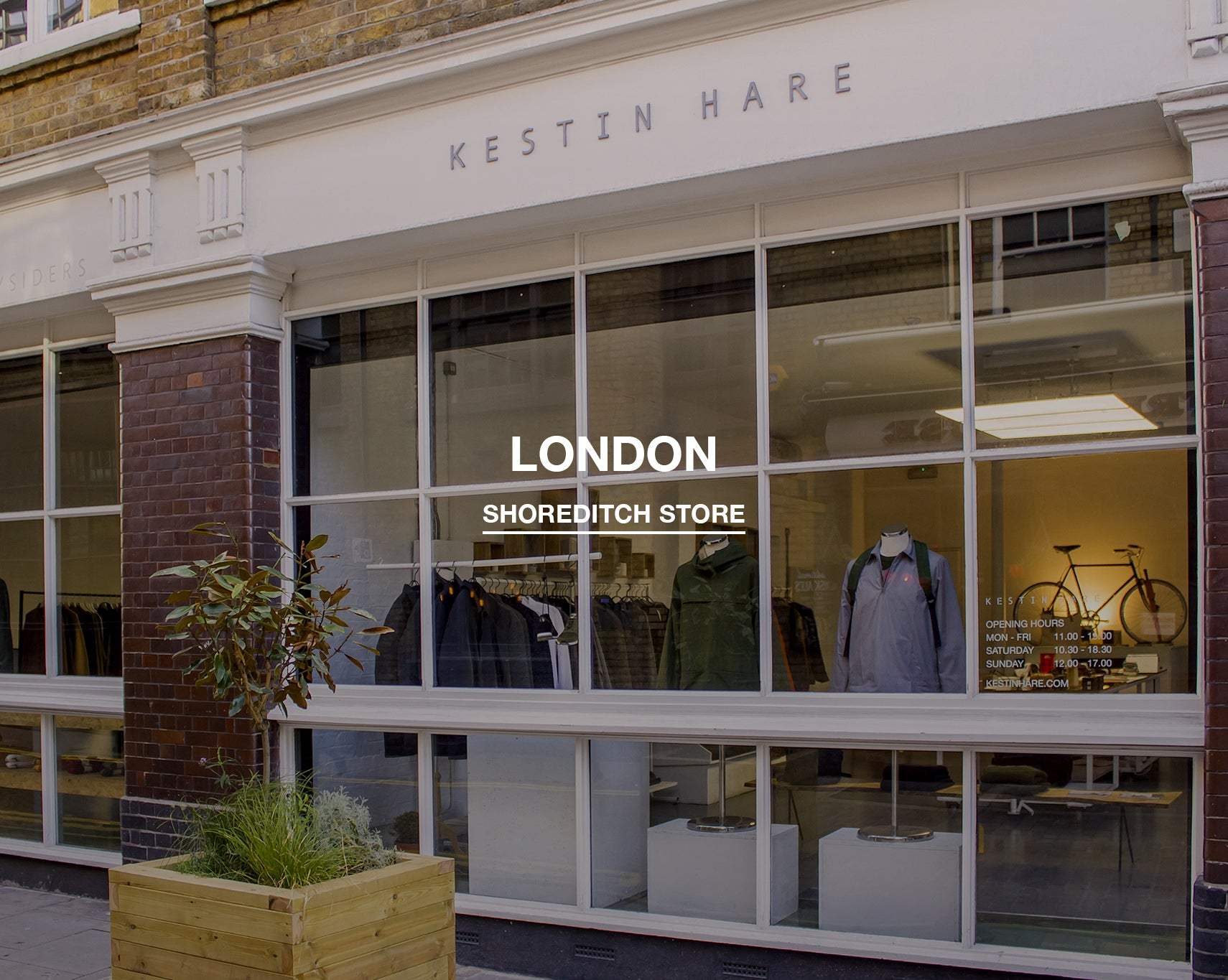 Kestin Hare Shoreditch store