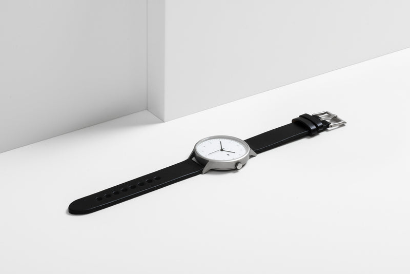 Instrmnt 01 Series In Black/Silver side view