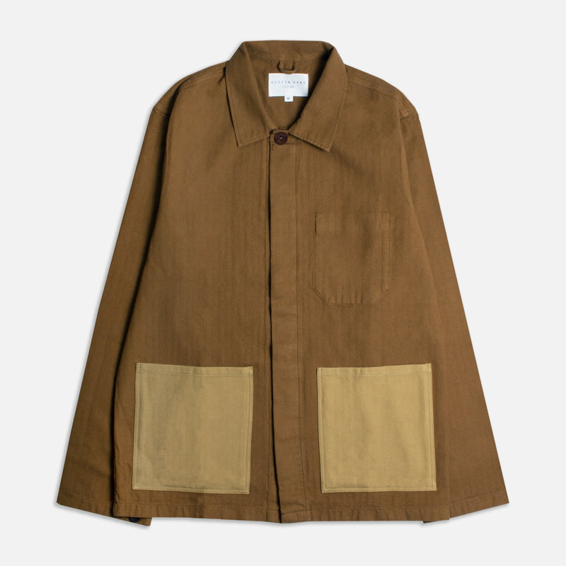 Arobois Shirt Jacket (Toasted Oak)