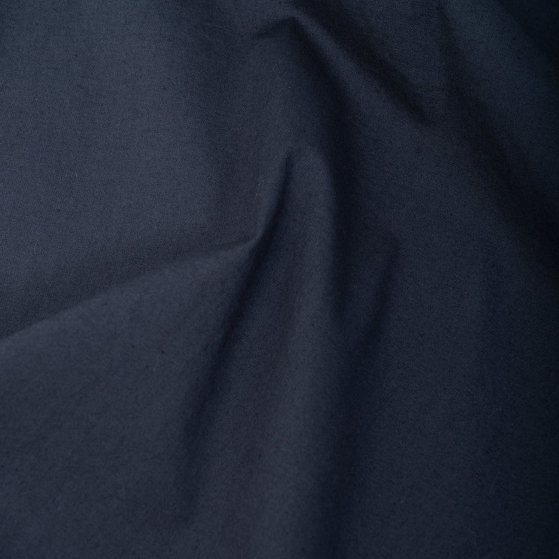 Crieff Sweat In Navy Woven Stretch Cotton