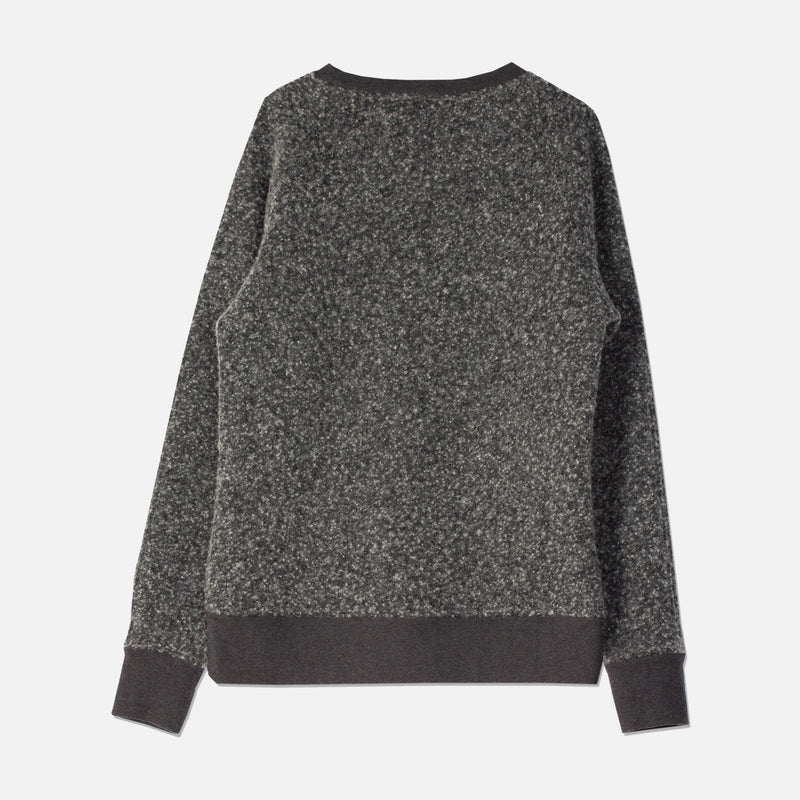 Durness Sweat In Charcoal Boiled Wool