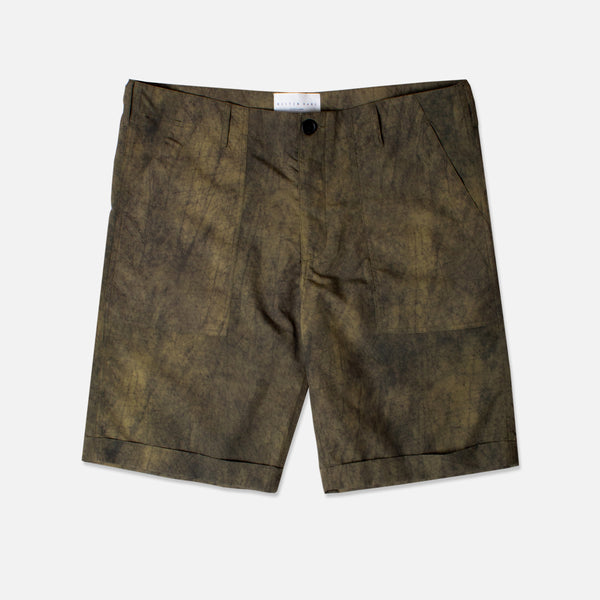 Kestin Hare Fatigue Short Olive Ripstop Nylon