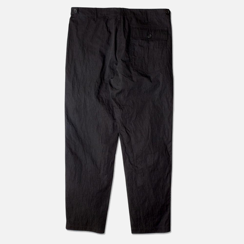 Kestin Hare Fatigue Pant in Black Cotton/Nylon back view