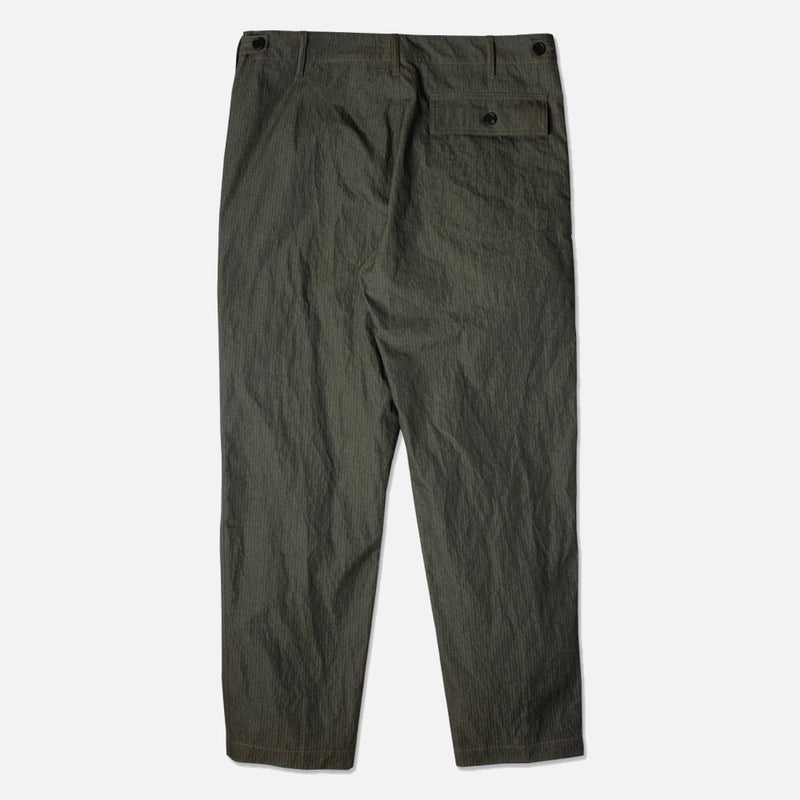 Kestin Hare Fatigue Pant Olive Cotton/Nylon back view