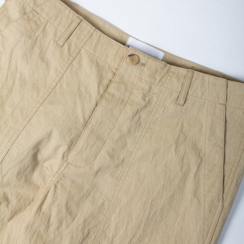 Kestin Hare Fatigue Pant In Sand Cotton/Nylon waist detail