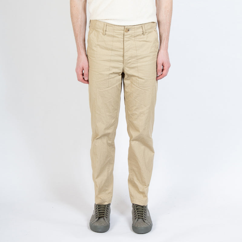 Kestin Hare Fatigue Pant In Sand Cotton/Nylon worn