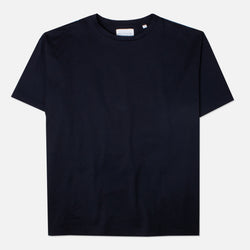Kestin Hare Fly Tee Navy Cotton Jersey