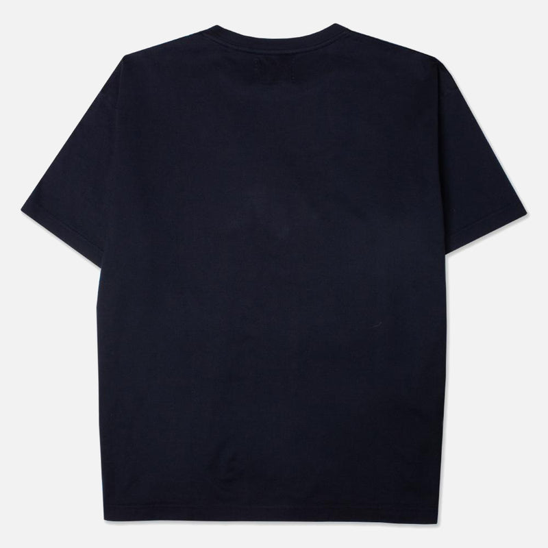 Kestin Hare Fly Tee Navy Cotton Jersey back view
